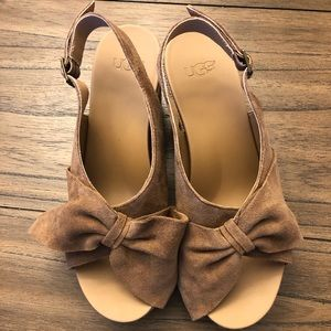 Ugg W. Camilla Wedge. Brand new in box. Never worn